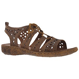 Lds Rosalie 15 cognac casual sandal