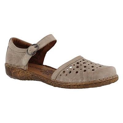 Lds Rosalie 19 cream casual sandal