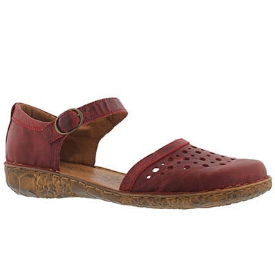 Lds Rosalie 19 red casual sandal