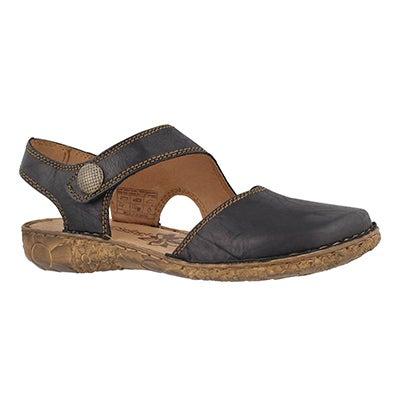 Lds Rosalie 27 black casual sandal