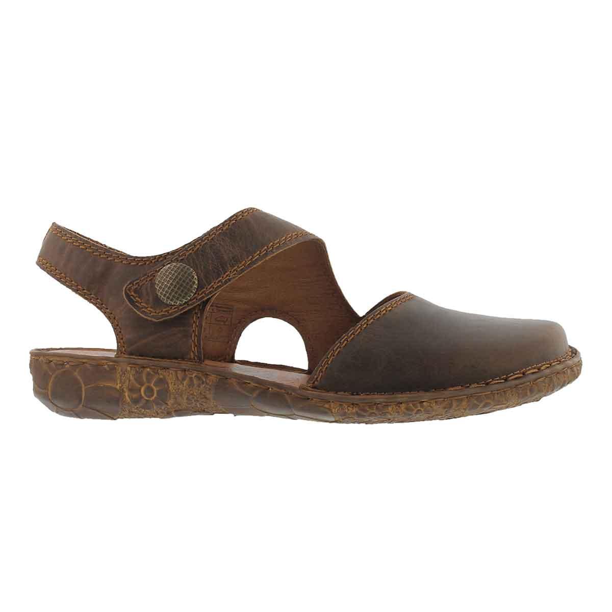 Lds Rosalie 27 brandy casual sandal