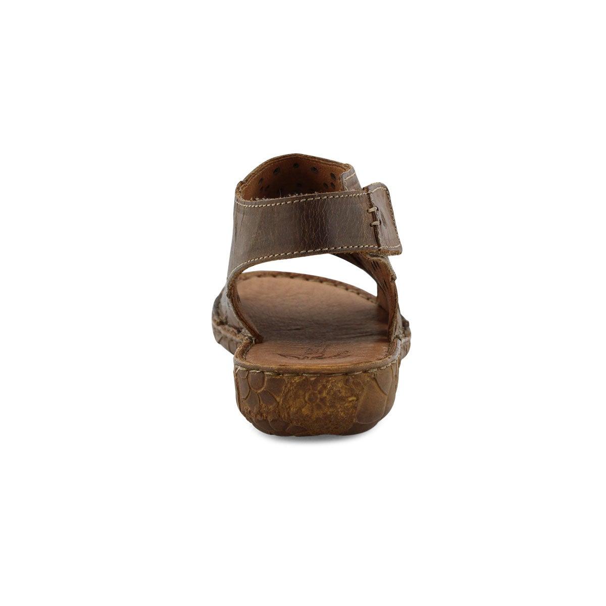 Lds Rosalie 31 brandy casual sandal