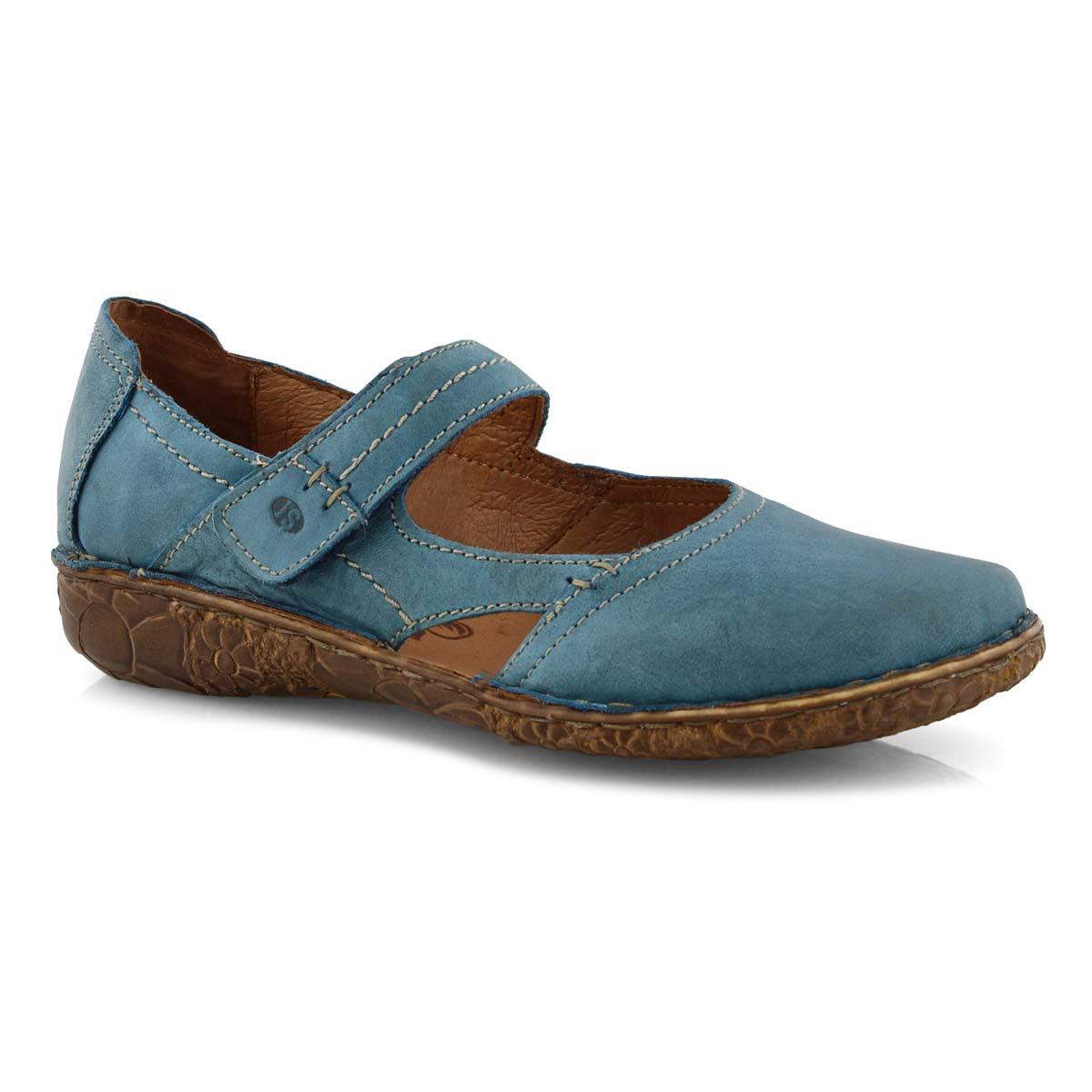 Lds Rosalie 37 azure mary jane shoe