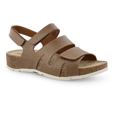 Lds Tilda 07 creme casual sandal