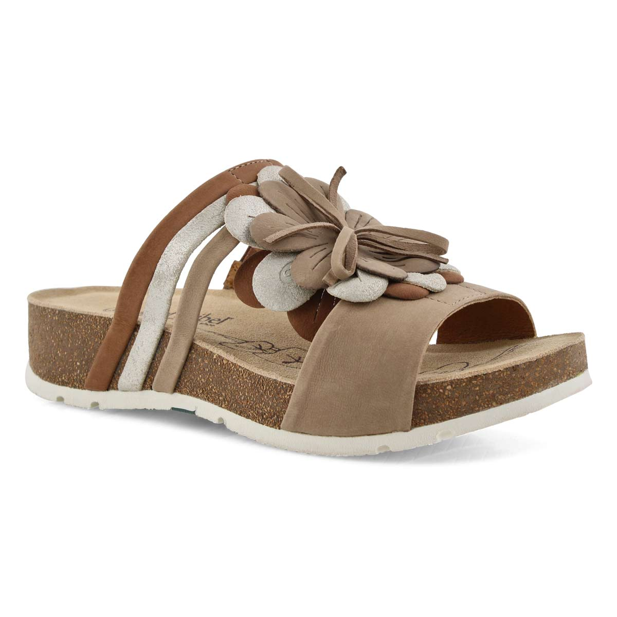 Lds Tilda 10 sand multi slide sandal
