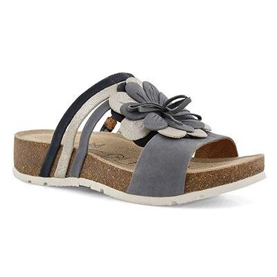 Lds Tilda 10 jeans slide sandal