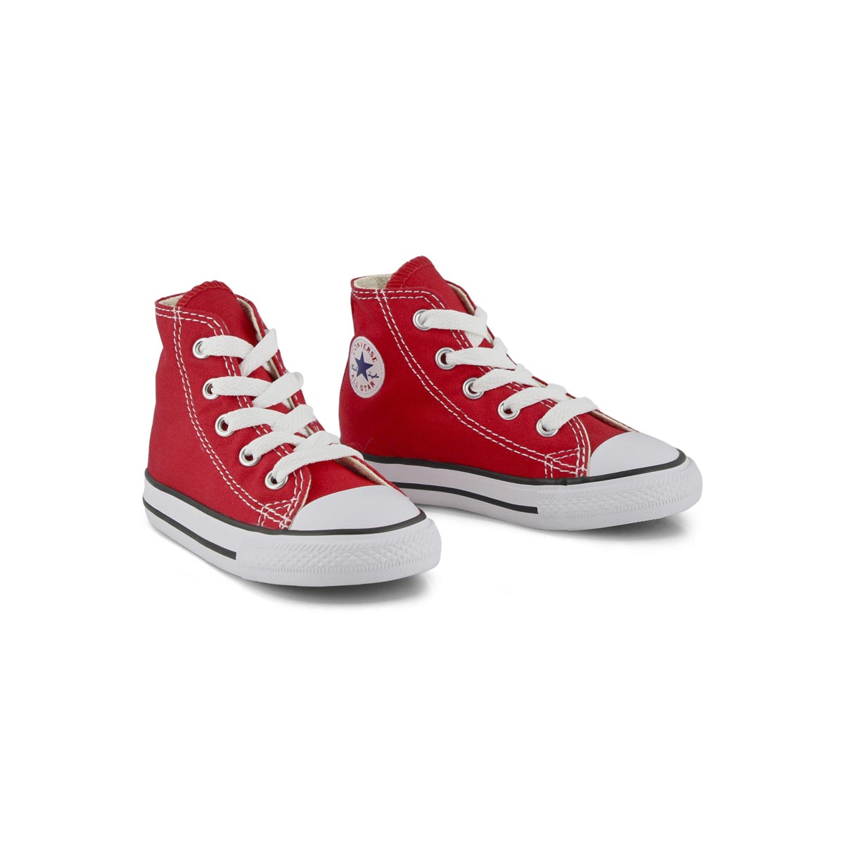 Infs CTAS Core red high top sneaker