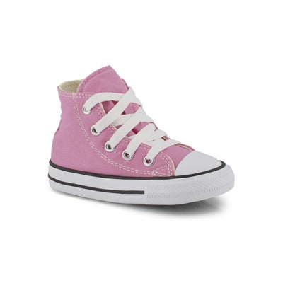 Converse Infants' CHUCK TAYLOR ALL STAR pink sneakers