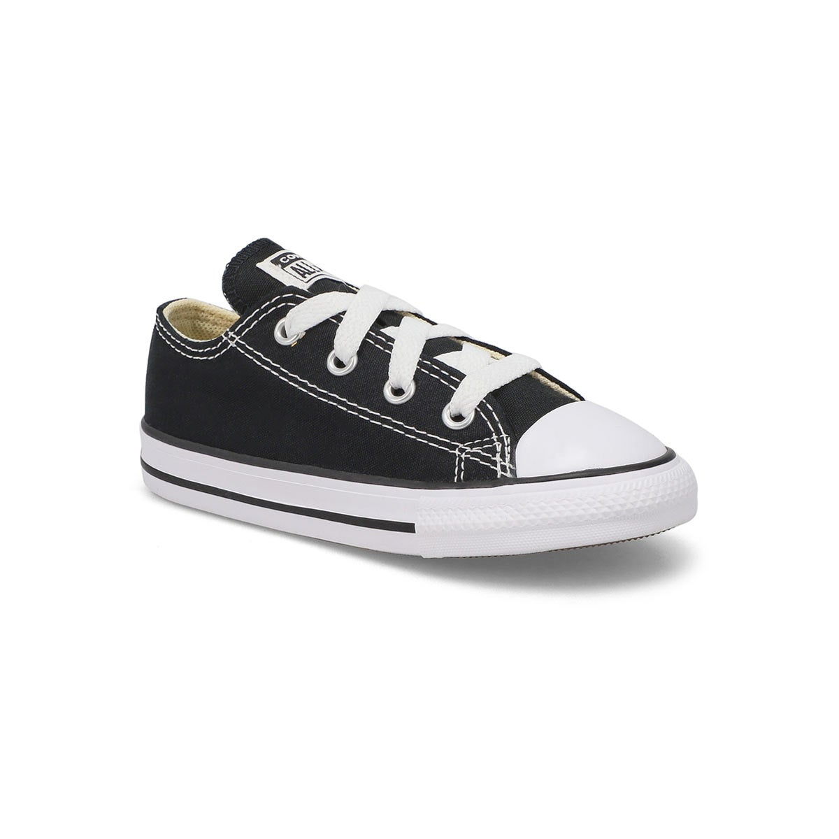 Infants' CHUCK TAYLOR ALL STAR black sneakers