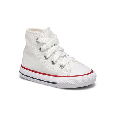 Infs CTAS Core white high top sneaker