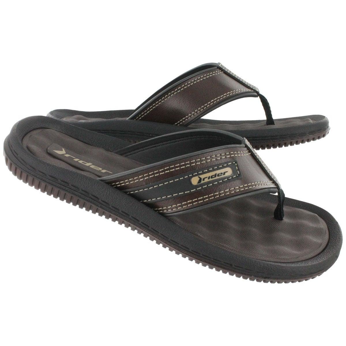 Mns Drift II brown/black flip-flop