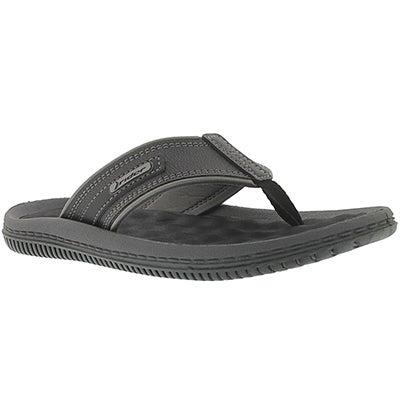 Mns Drift II black/grey flip-flop