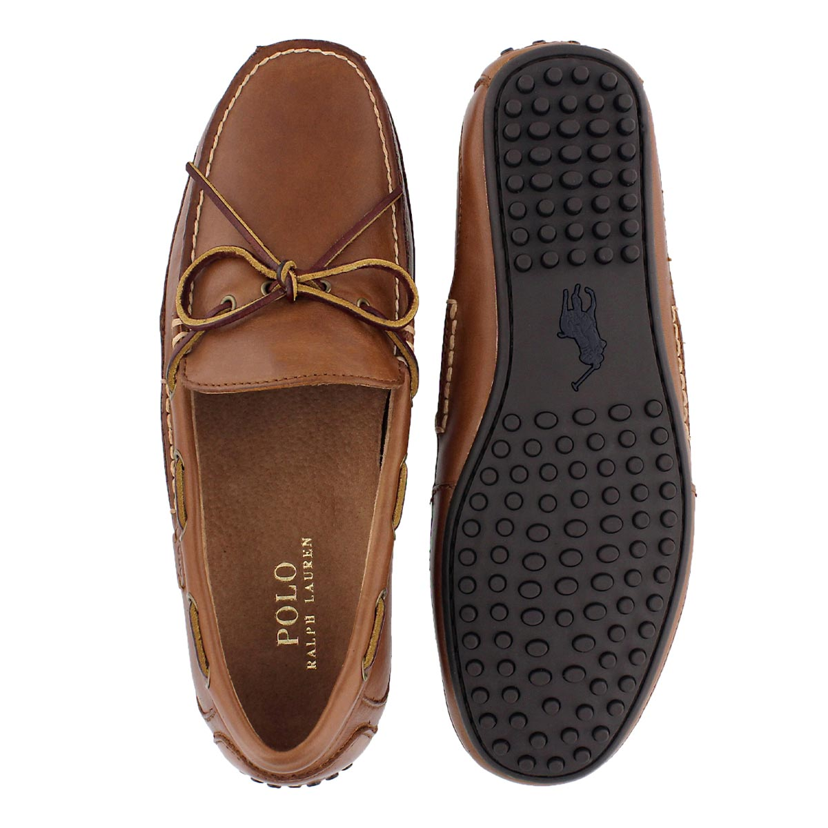Mns Wyndings polo tan moccasin