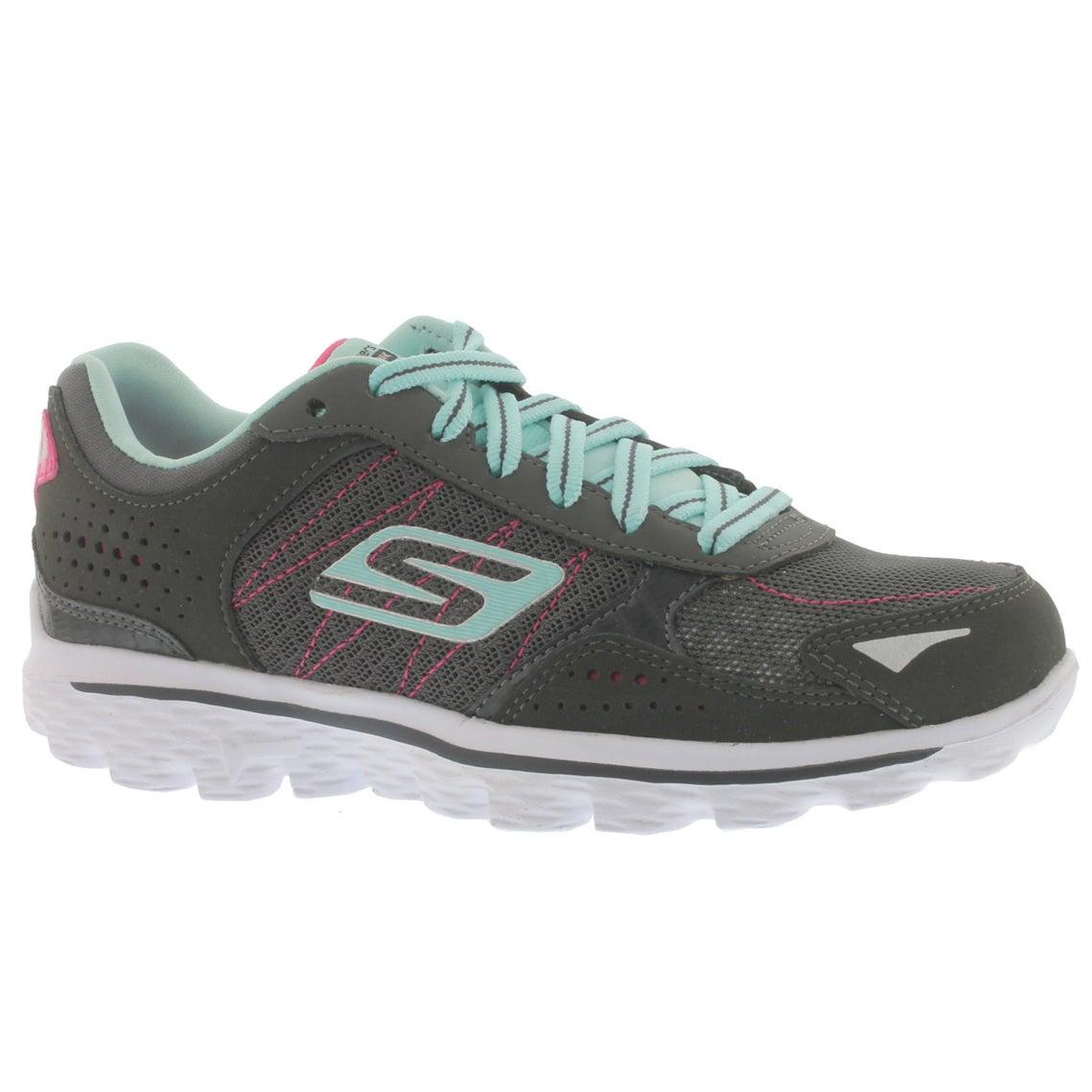 Grls GOwalk 2 Flash char lace up sneaker