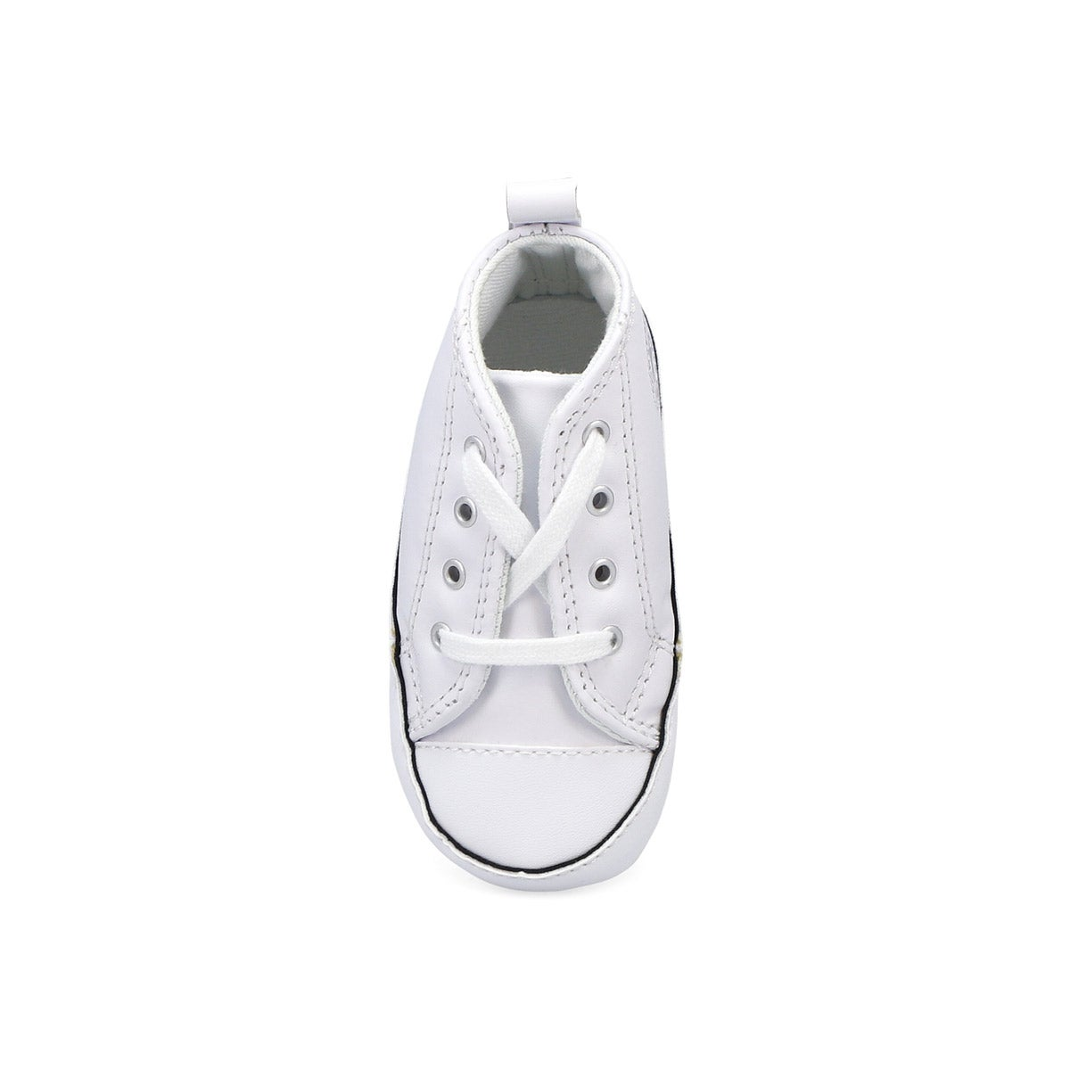 Inf CTAS Crib white leather sneaker