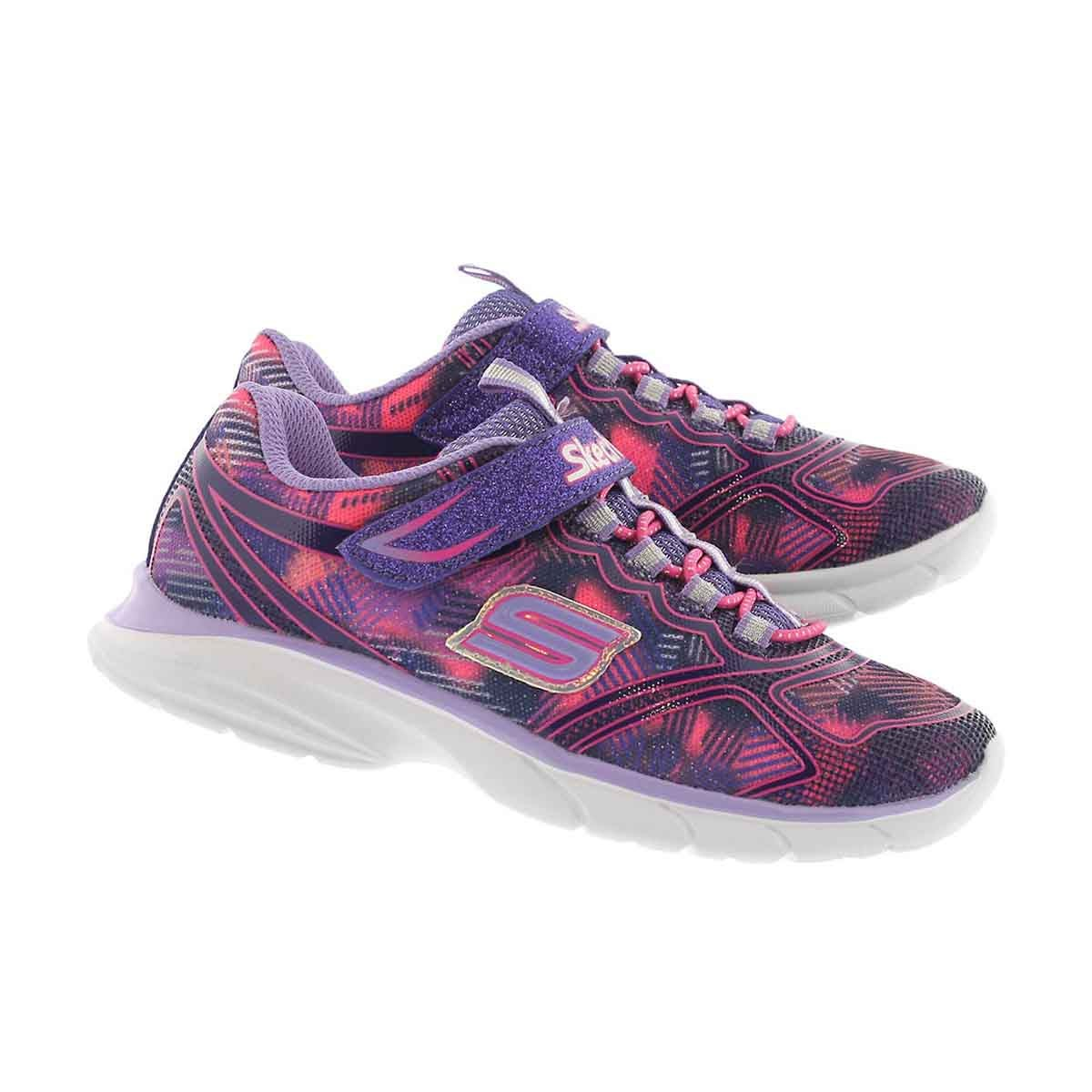 Grls Spirit Sprintz purple sneaker