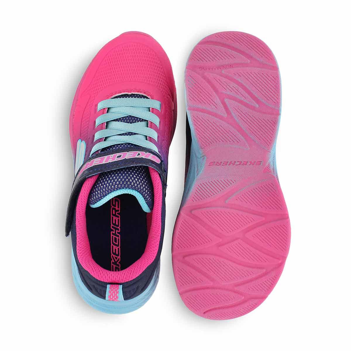 Grls Lite Runner pnk/ppl sneaker