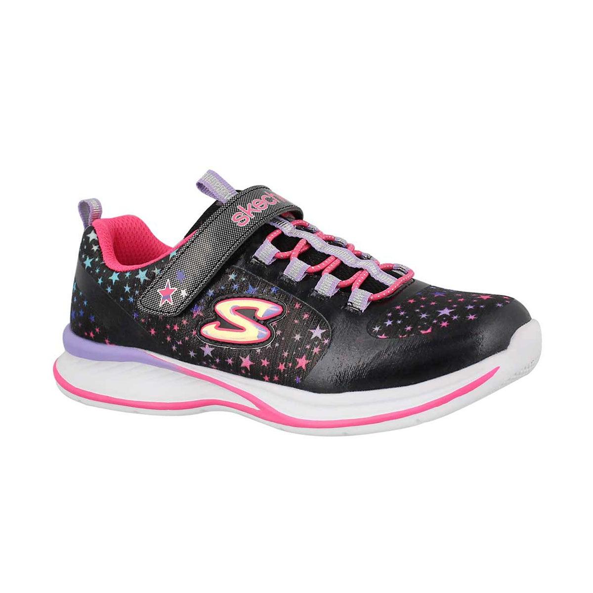 Girls' JUMPIN JAMS COSMIC black/multi sneakers