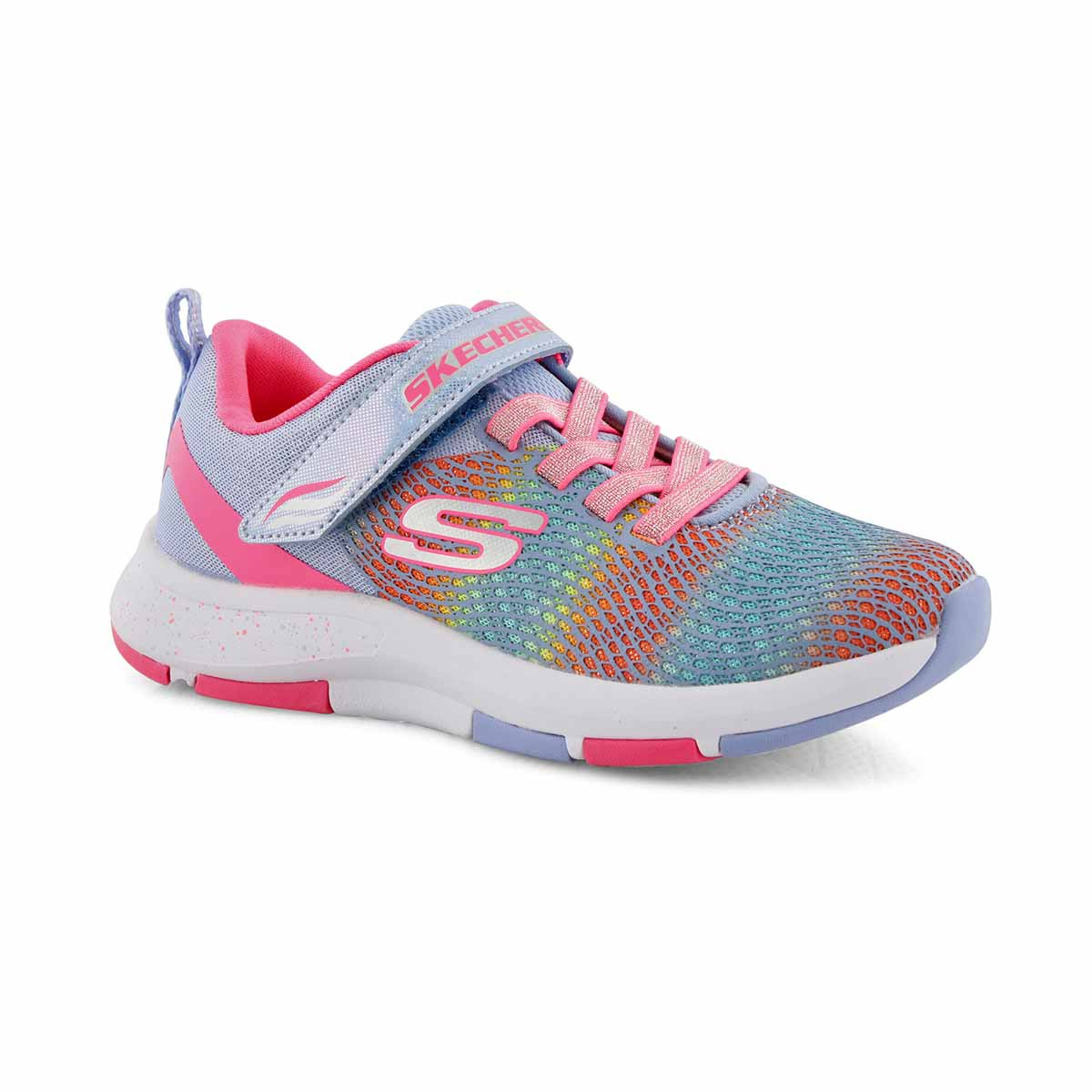Grls Trainer Lite 2.0 blu/pnk sneaker