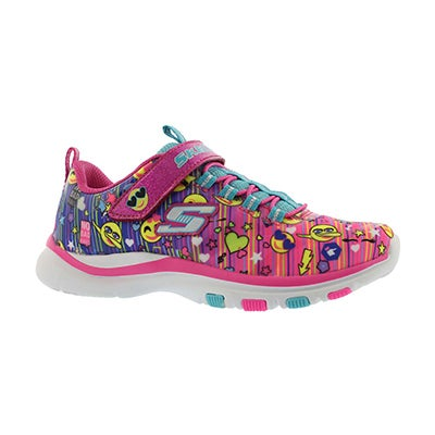 Grls Trainer Lite Color Dance emoji snkr