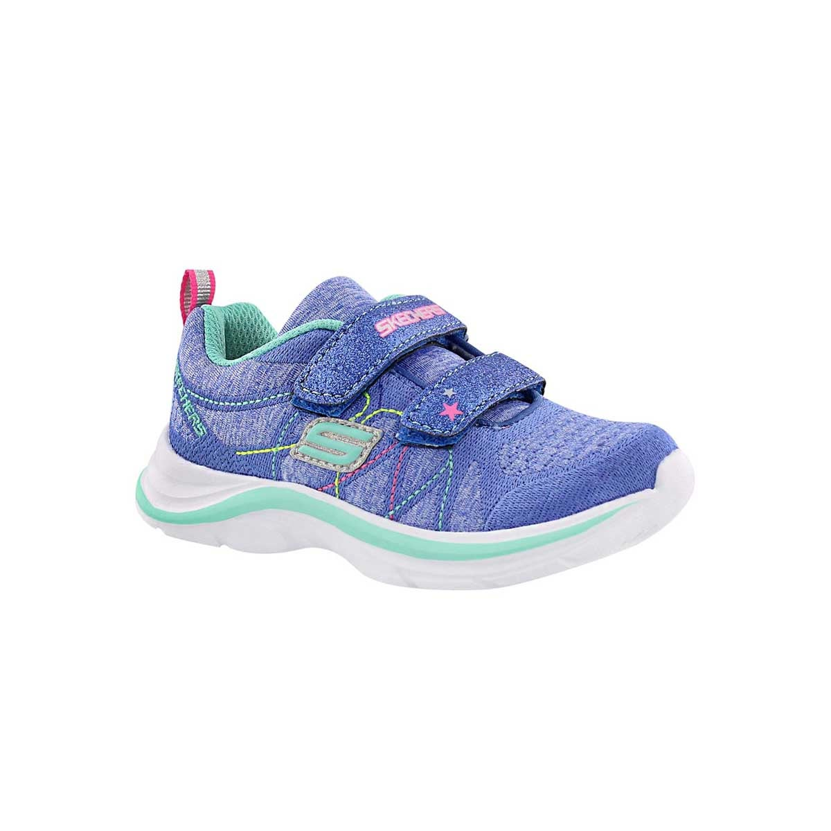 Infants' GLAMMER GAMES blue/aqua sneakers