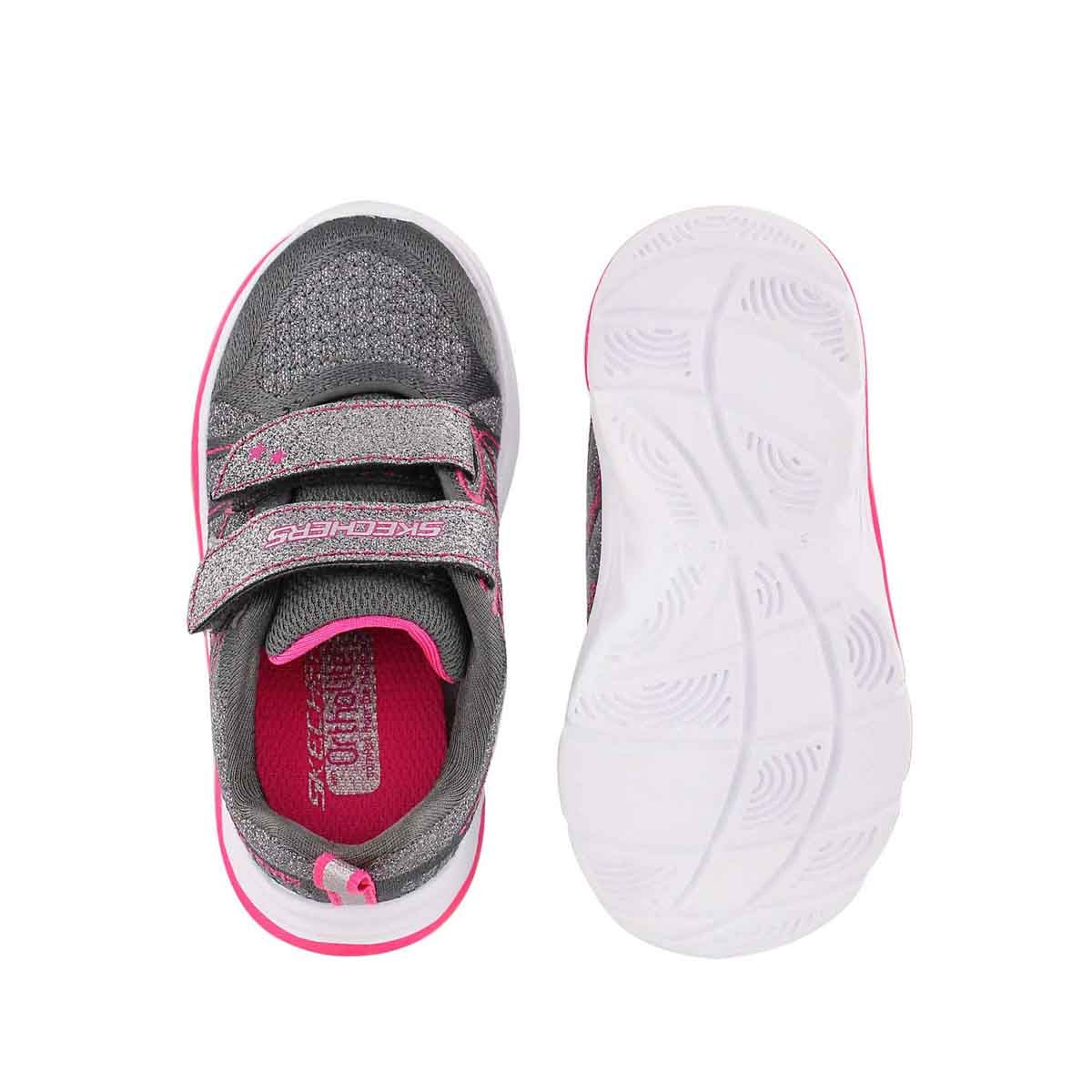 Inf Lil Glammer charcoal running shoe