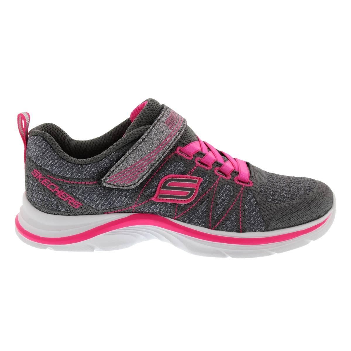 Grls Swift Kicks grey/pink sneaker