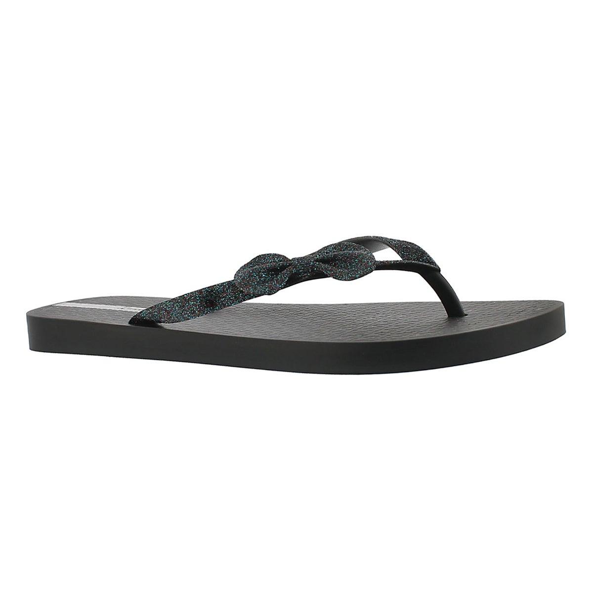 Sandale tong LOLITA II, noir, femmes