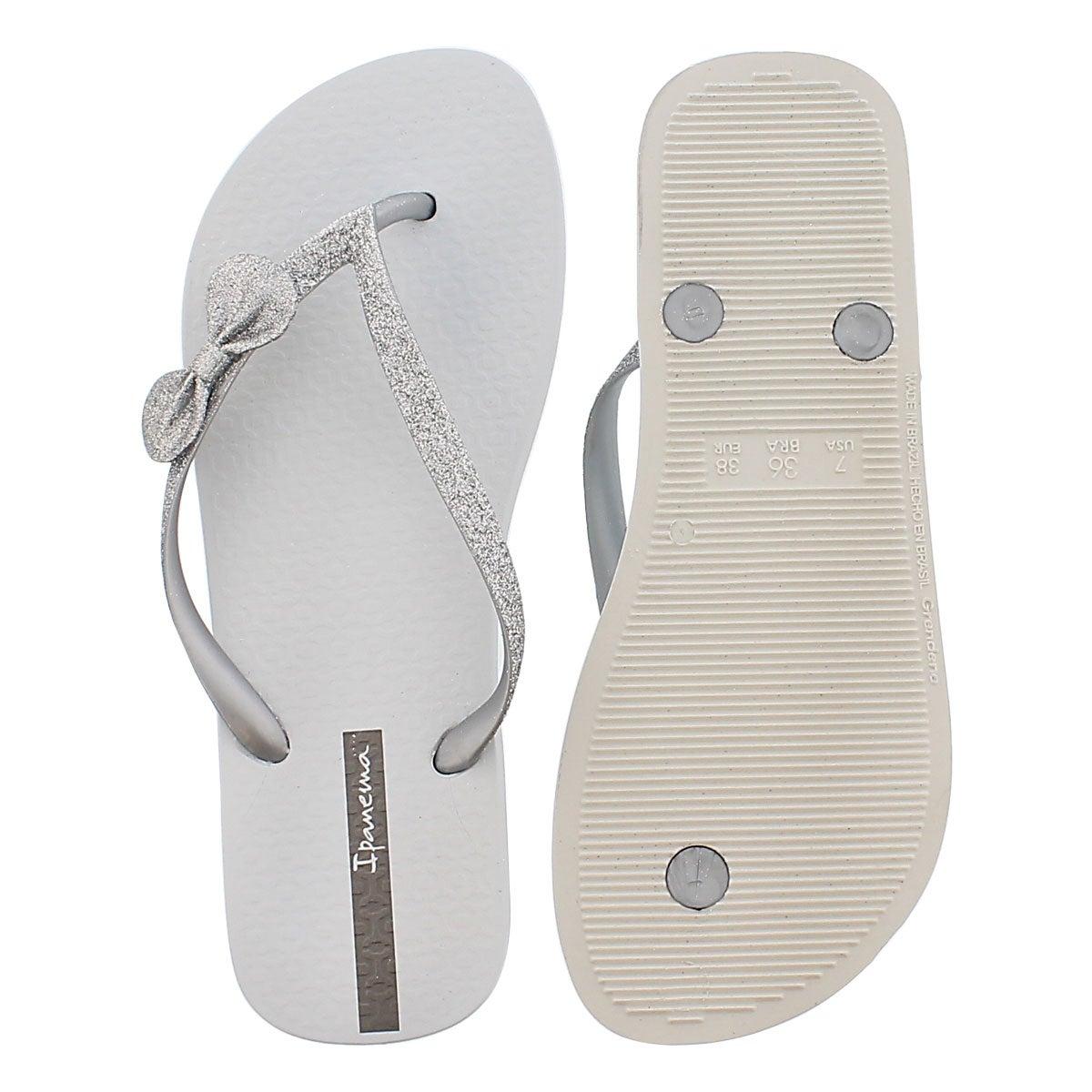 Sandale tong LOLITA II, blanc, femmes