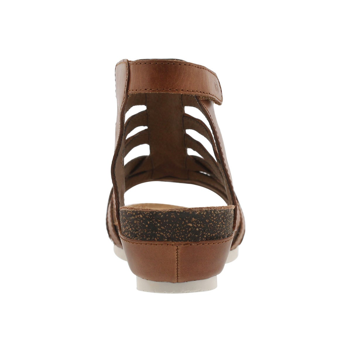 Lds Hailey 17 camel dress wedge sandal