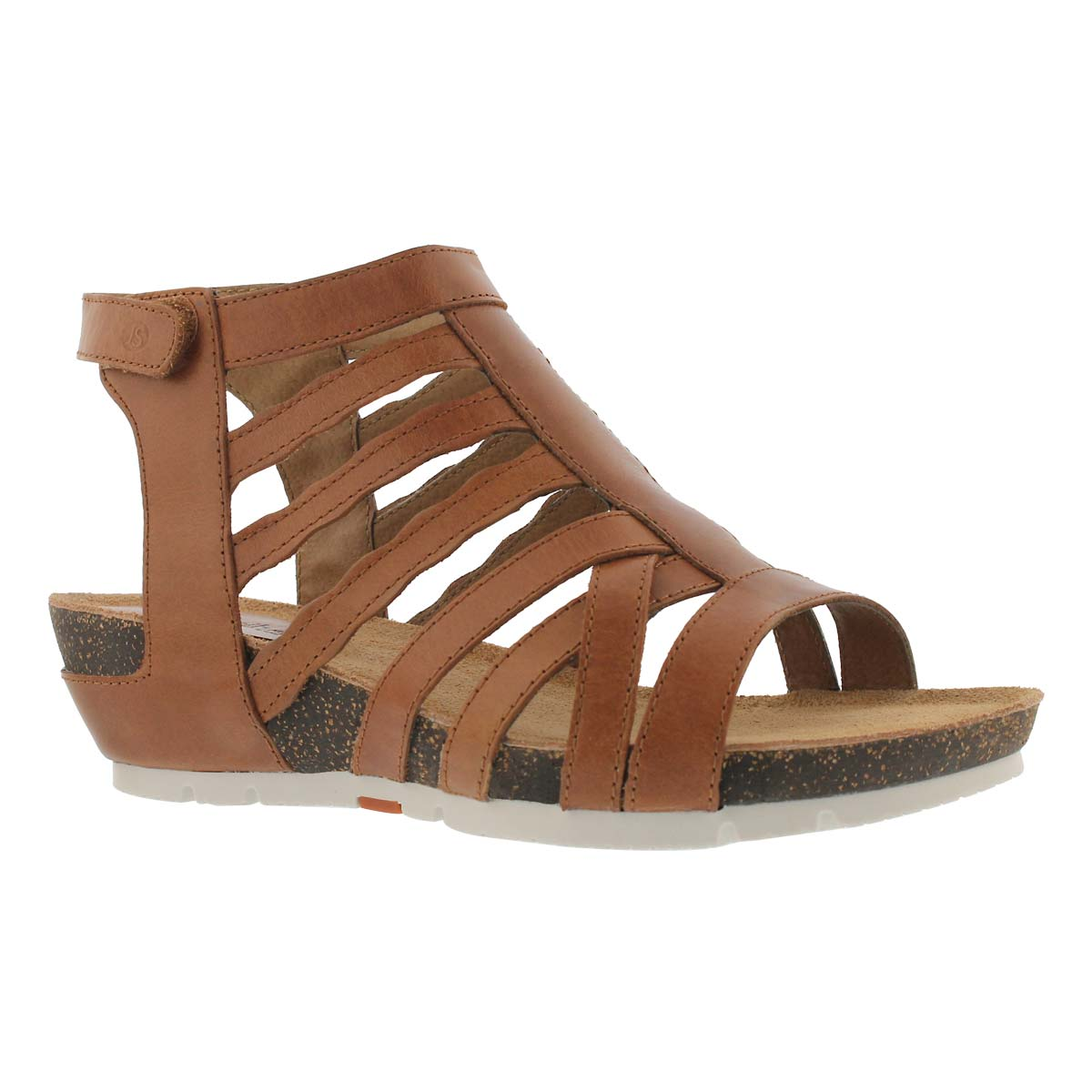 Women's HAILEY 17 camel dress wedge sandal