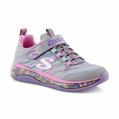 Grls Funfetti ppl/mlti sneaker