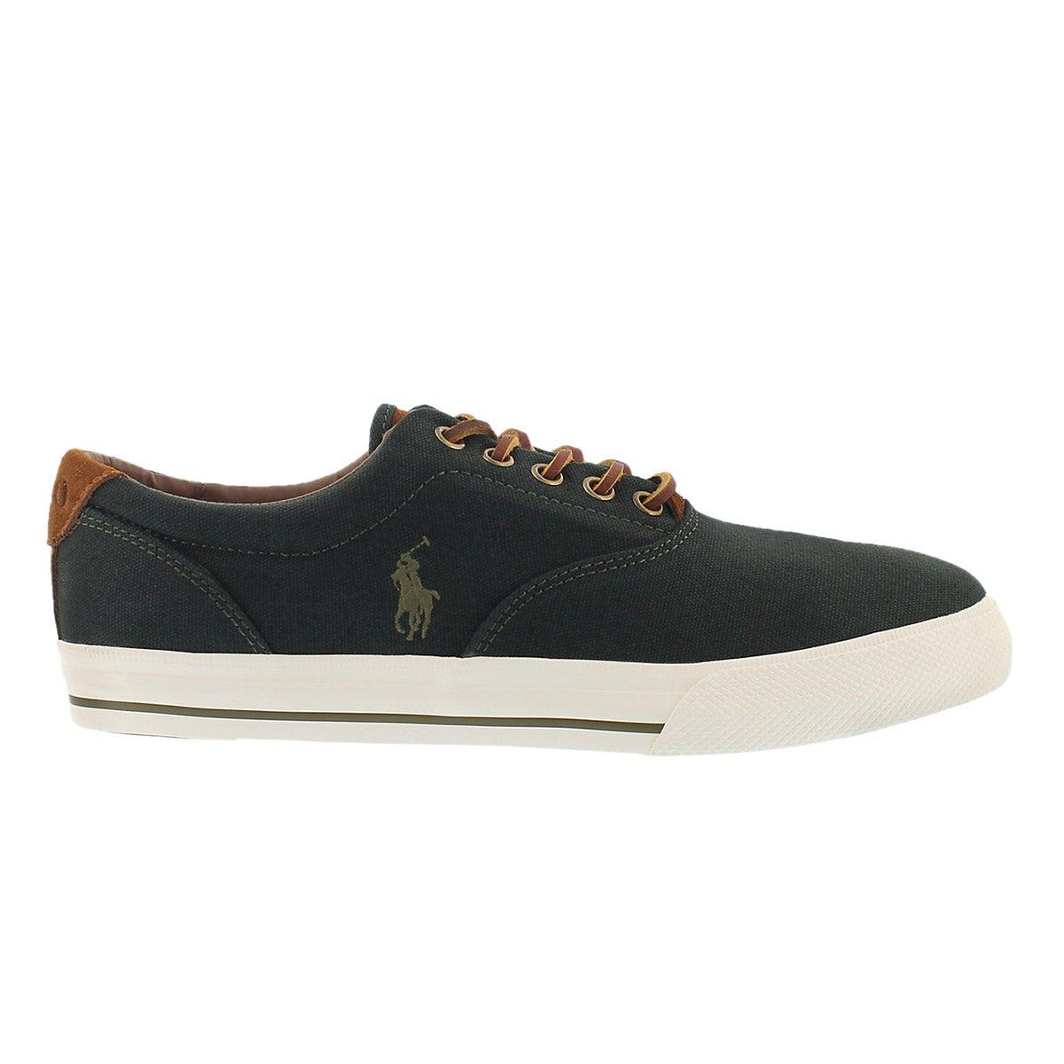 Mns Vaughn alpine green cnvs/sde sneaker
