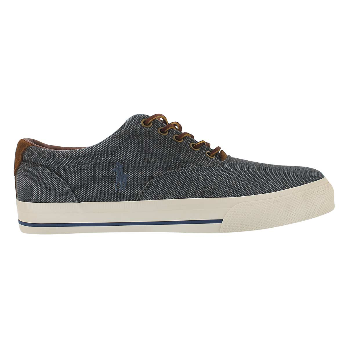 Mns Vaughn chambray burlap/suede sneak