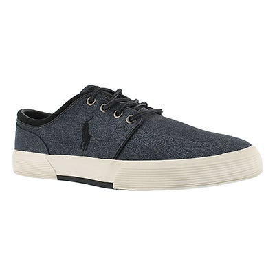 Polo Men's FAXON LOW grey nylon sneakers