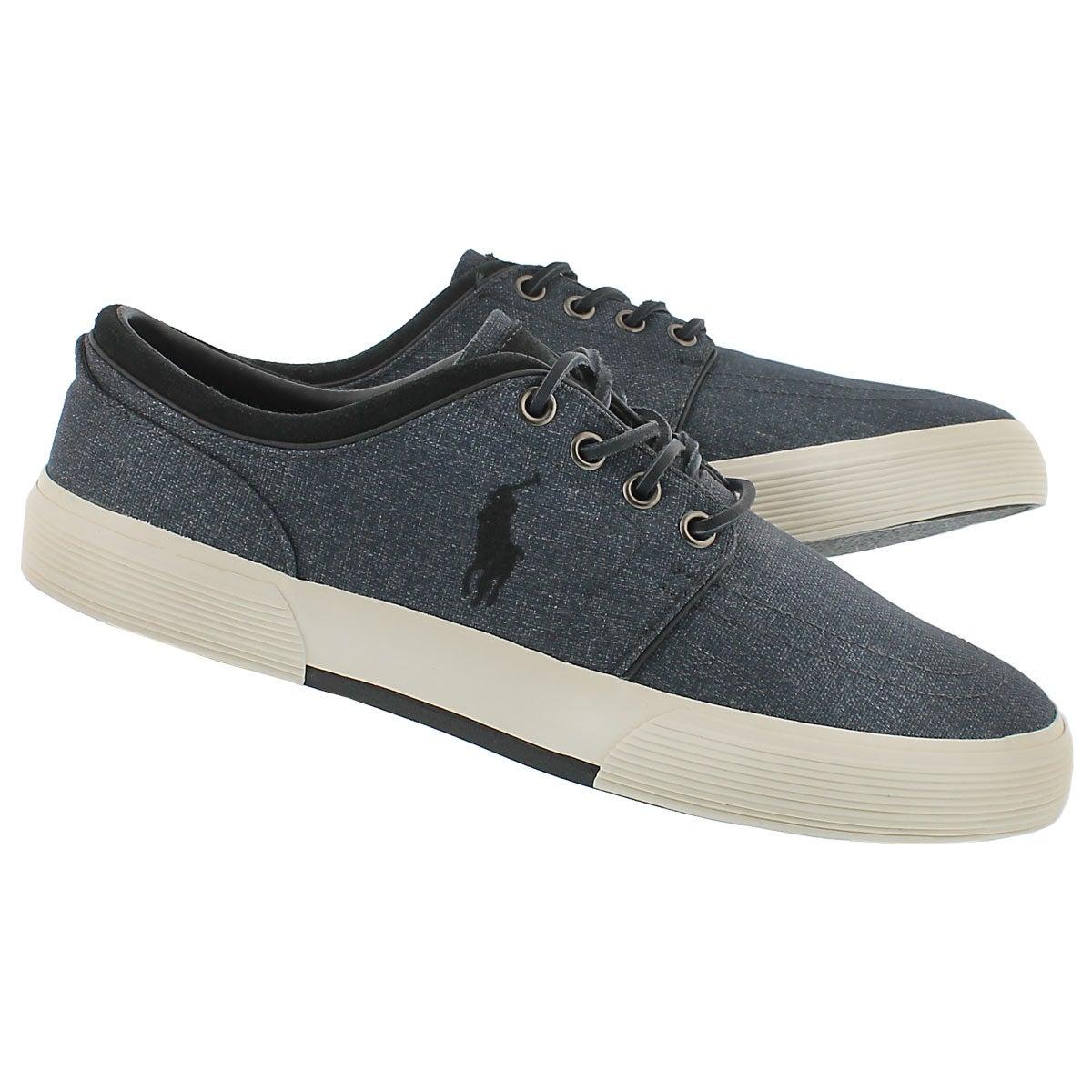 Mns Faxon Low gry heatherd nylon sneaker