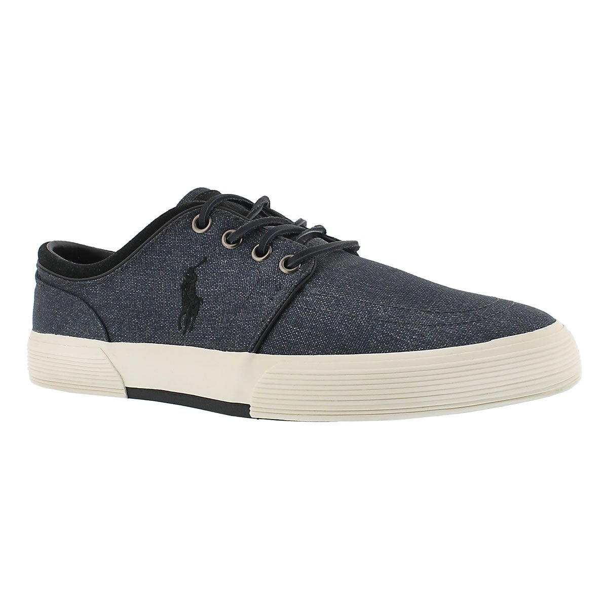 Men's FAXON LOW grey nylon sneakers