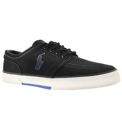 Polo Men's FAXON LOW royal mesh lace up sneakers