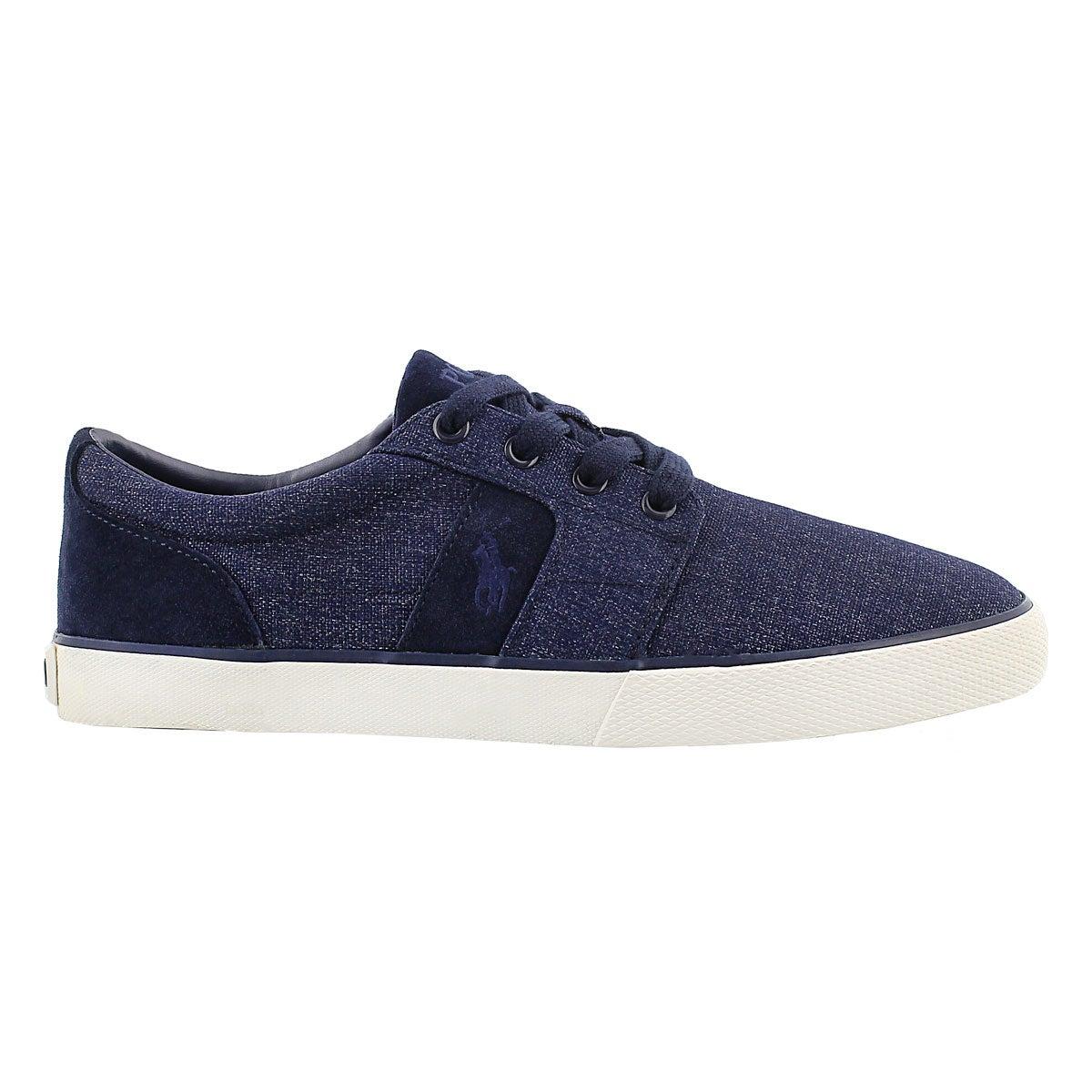 Mns Halmore navy suede/nylon sneaker