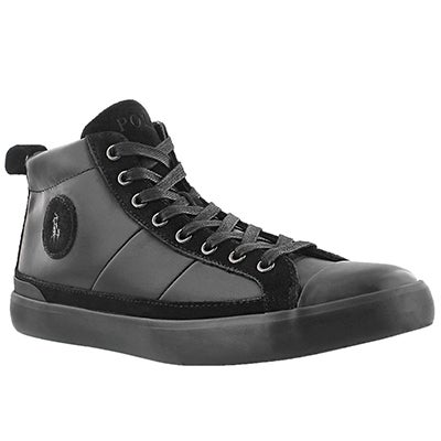 Polo Men's CLARKE black lace up sneakers