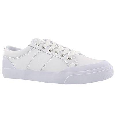 Polo Men's IAN white lace up sneaker