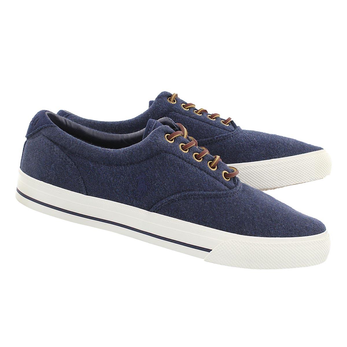 Mns Vaughn dk blue fleece sneaker