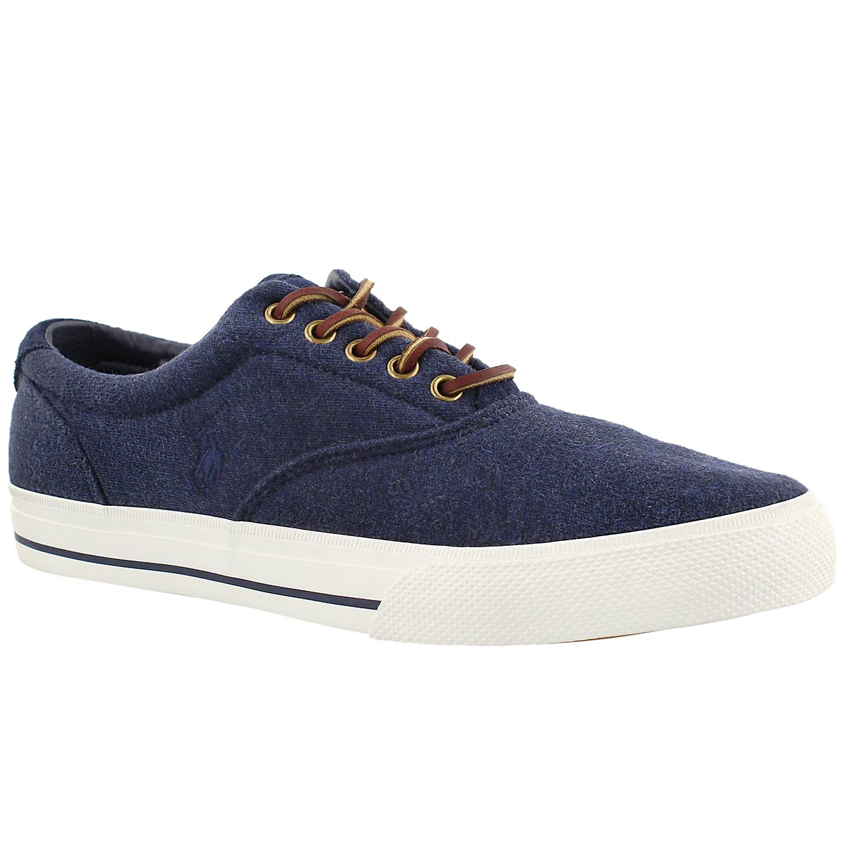Men's VAUGHN dark blue fleece sneakers