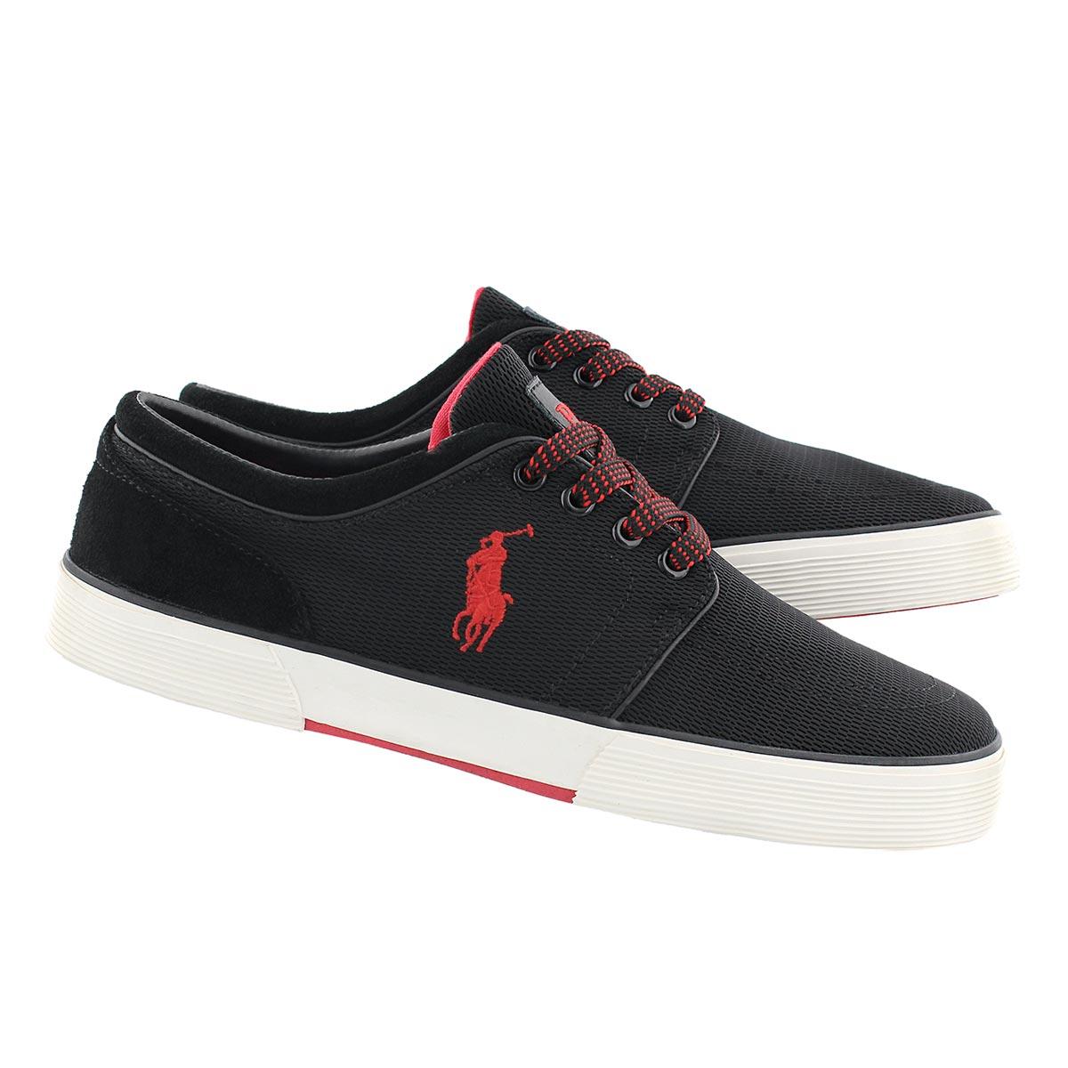 Mns Faxon Low black lace up sneaker