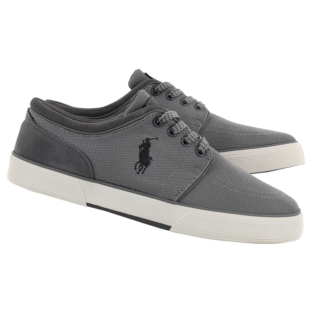 Mns Faxon Low grey lace up sneaker