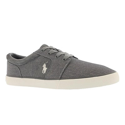 Polo Men's HALMORE II grey lace up sneakers