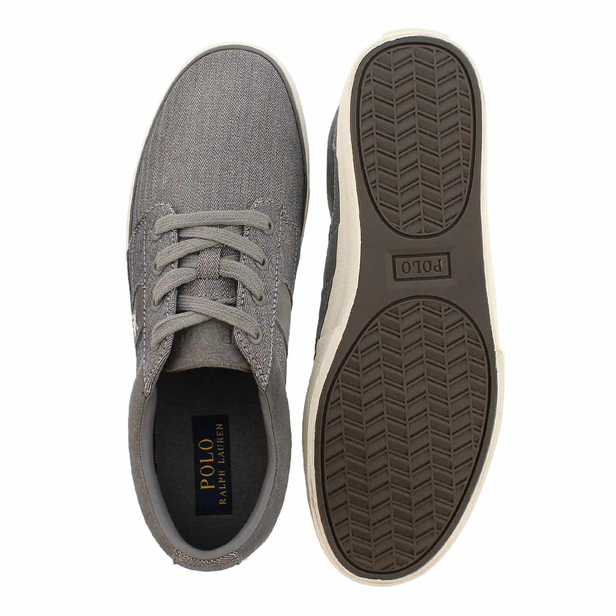Mns Halmore II grey lace up sneaker