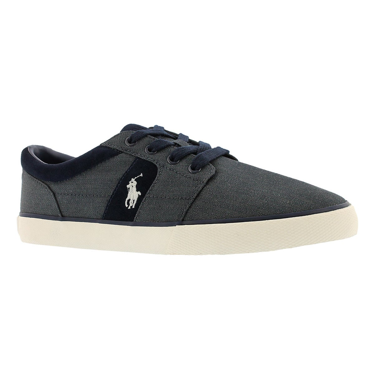 Men's HALMORE II denim lace up sneakers