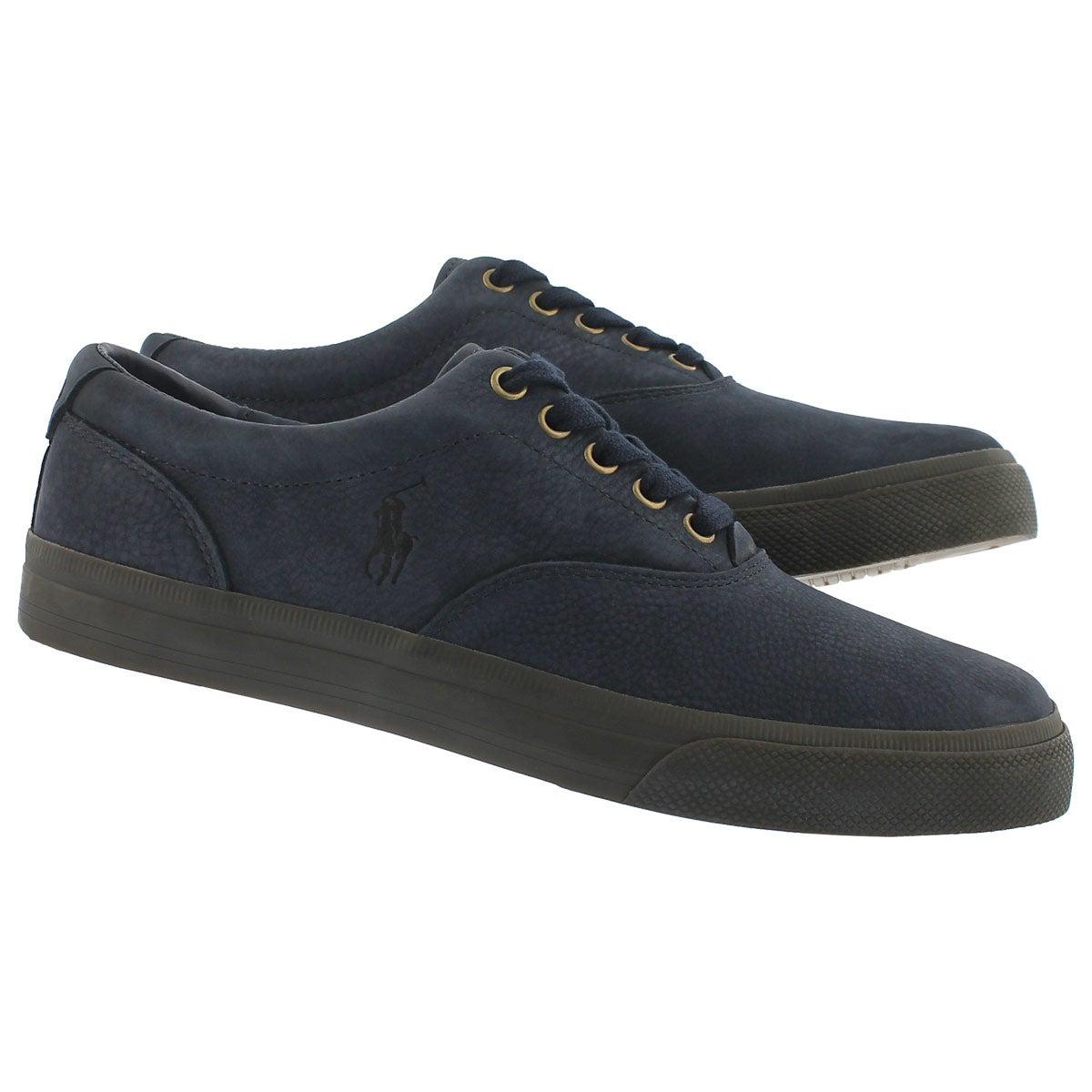 Mns Vaughn newport navy lace up sneaker