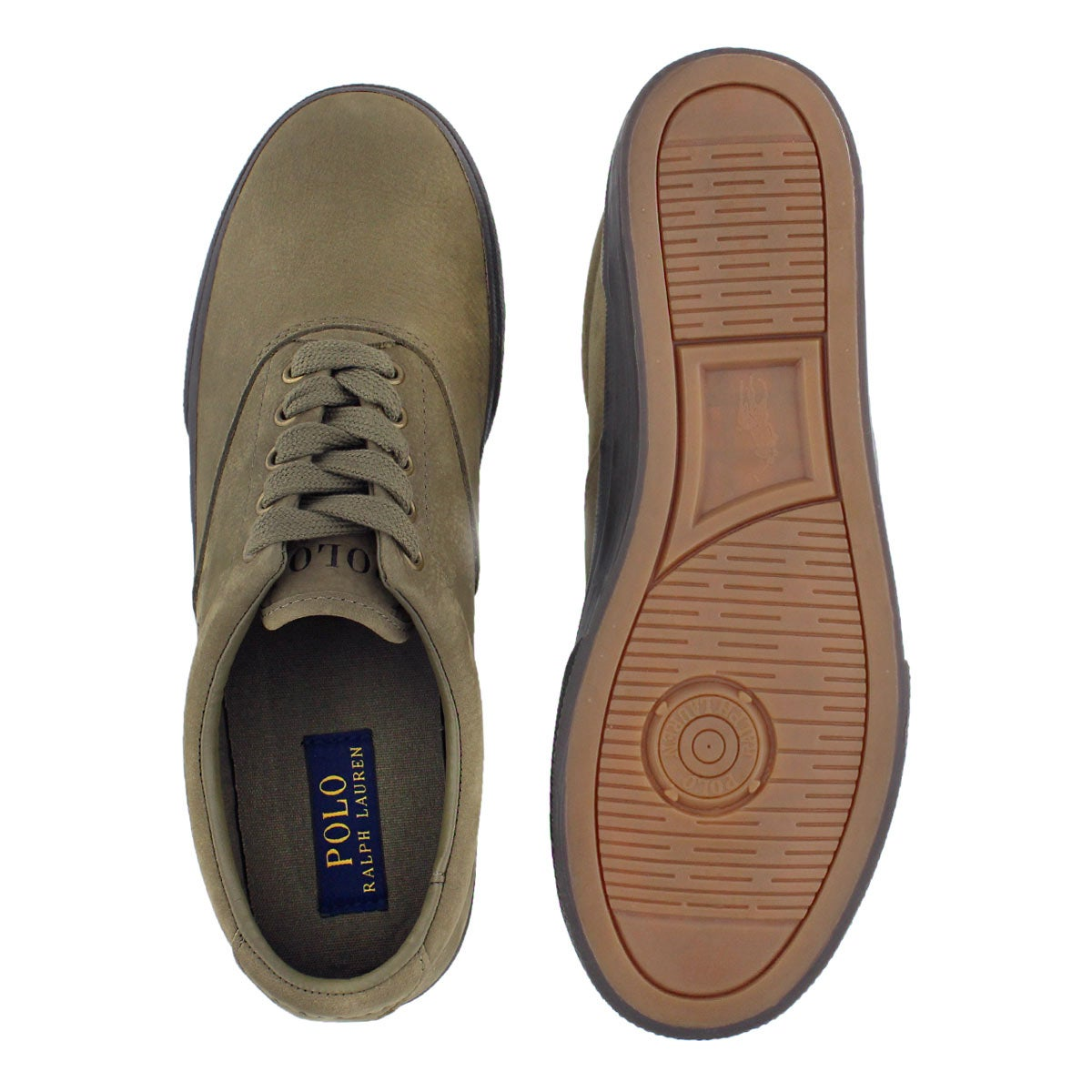 Mns Vaughn olive lace up sneaker